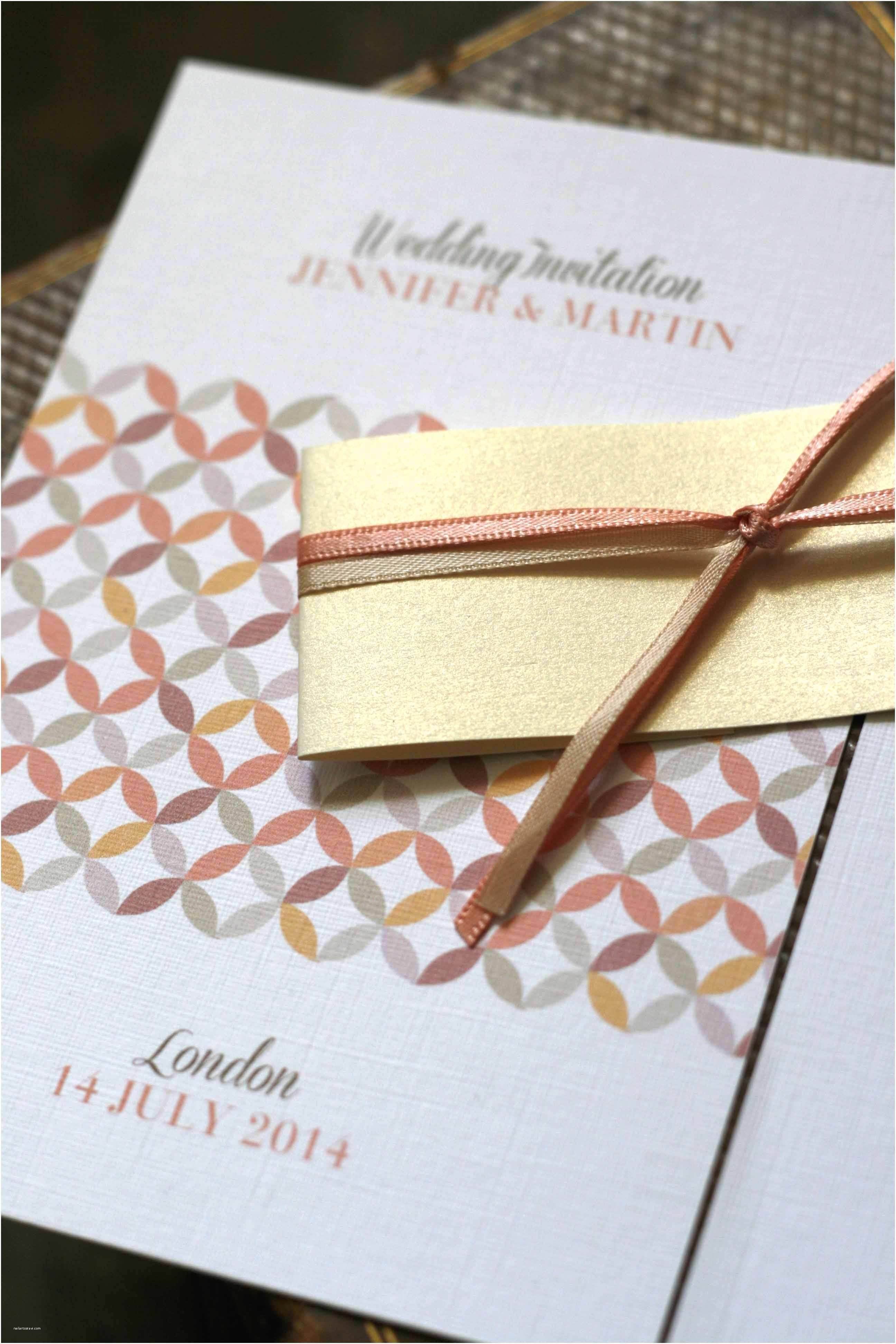 Layered Wedding  Multiple Page Wedding Invitation Layered