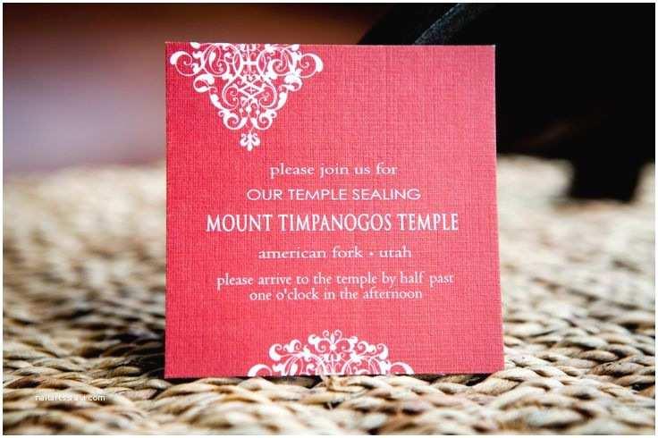 Lds Wedding Invitation Wording Temple Wedding Invitation Wording
