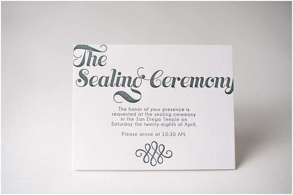Lds Wedding Invitations Invitation Info Cards Sealing Ceremony Lds Wedding Lds