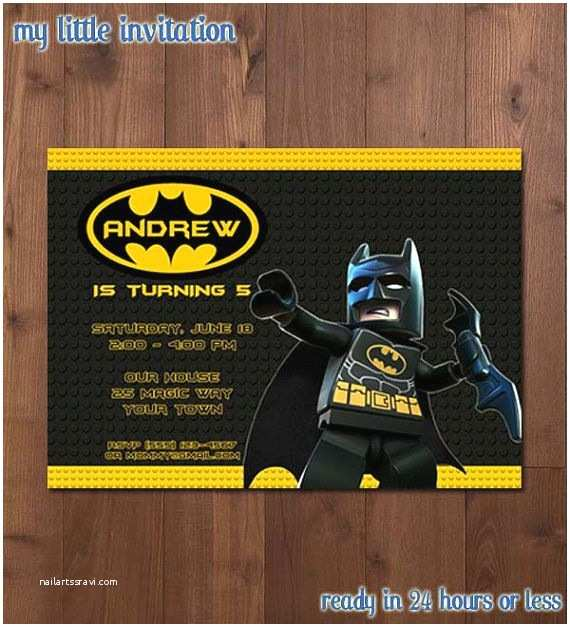 Lego Batman Party Invitations 25 Best Ideas About Lego Batman Birthday On Pinterest