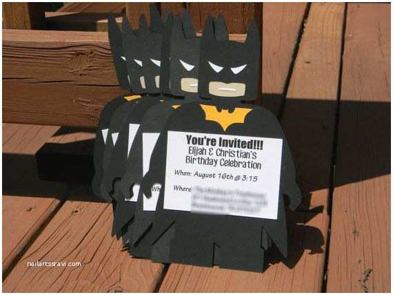 Lego Batman Party Invitations 41 Best Images About Brennan S 6th Birthday Party On