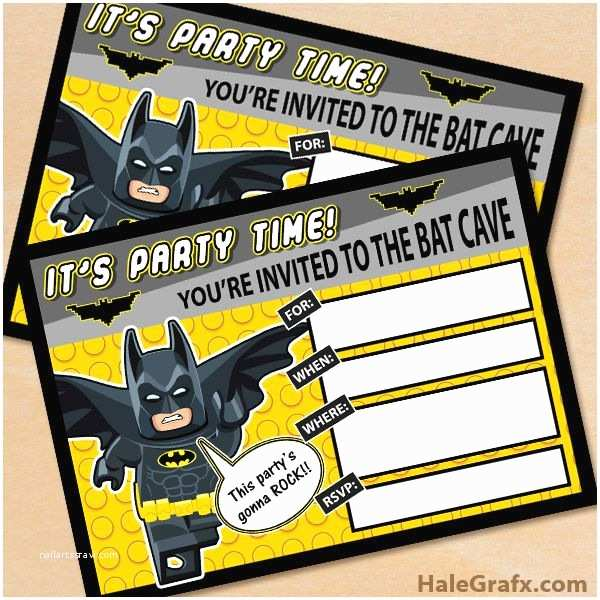 Lego Batman Party Invitations Best 20 Lego Batman Birthday Ideas On Pinterest