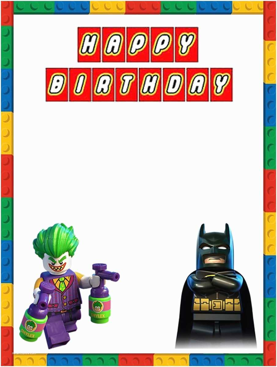 Lego Batman Party Invitations Modern Batman Invitation Templates Illustration Model