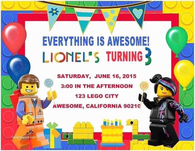 Lego Birthday Invitations Free Lego Birthday Invitations Ideas — Anouk Invitations
