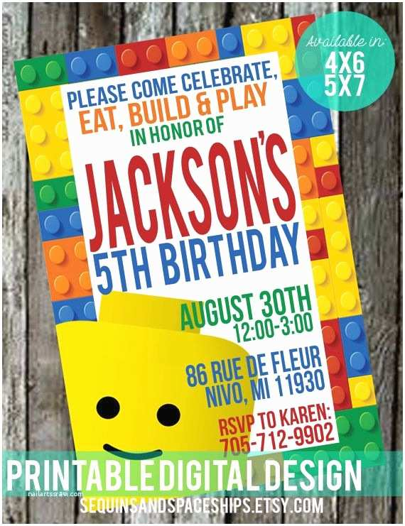 Lego Party Invitations 460 Best Lego & Nexo or Ninjago Party Images On Pinterest