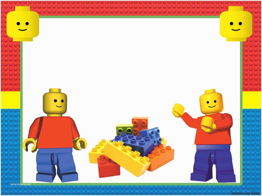 lego party free printable invitations