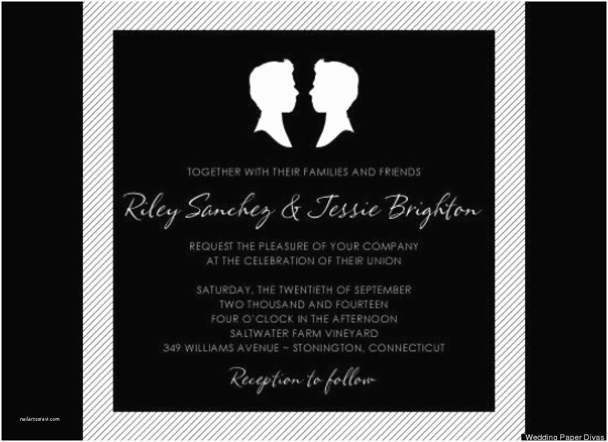Lesbian Wedding Invitation Wording Gay Wedding Invitations Wording Various Invitation Card