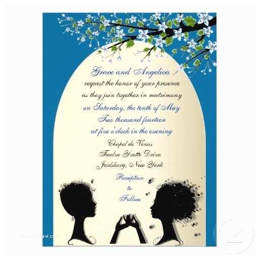 Lesbian Wedding Invitations Invitations