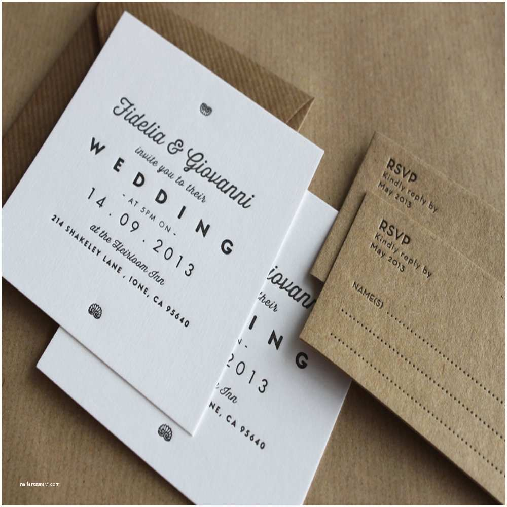 Letterpress Wedding Invitations Letterpress Business Cards and Wedding Invitations