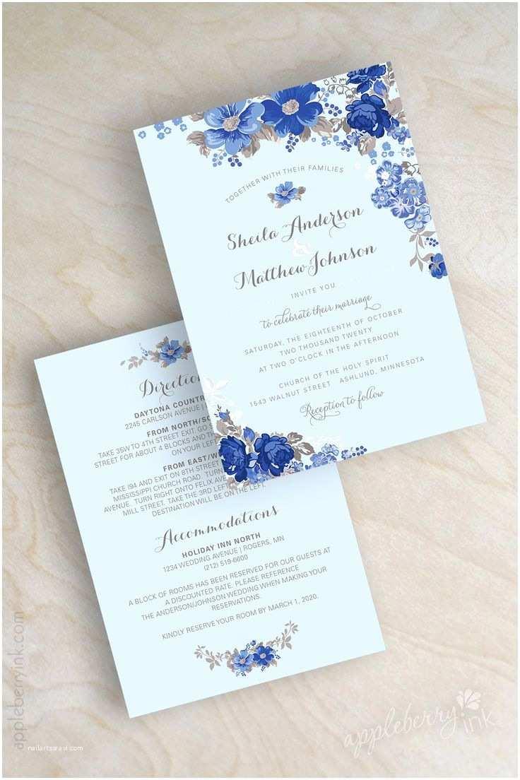 Light Blue Wedding Invitations Best 25 Garden Wedding Invitations Ideas On