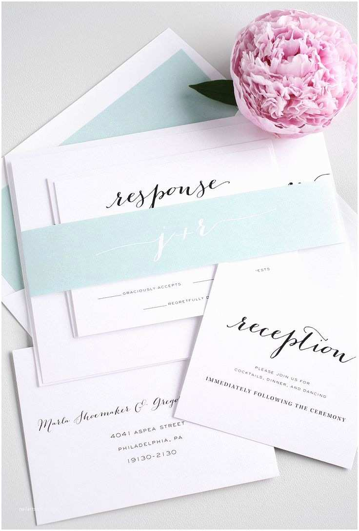 Light Blue Wedding Invitations Pantone S Wedding Colors Of