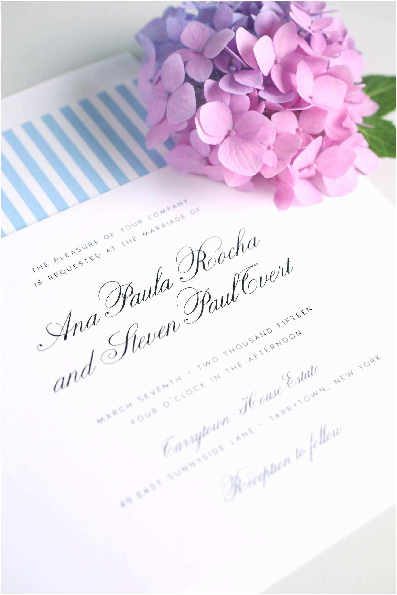 Light Blue Wedding  Vintage Wedding Invitation In Sky Blue – Wedding