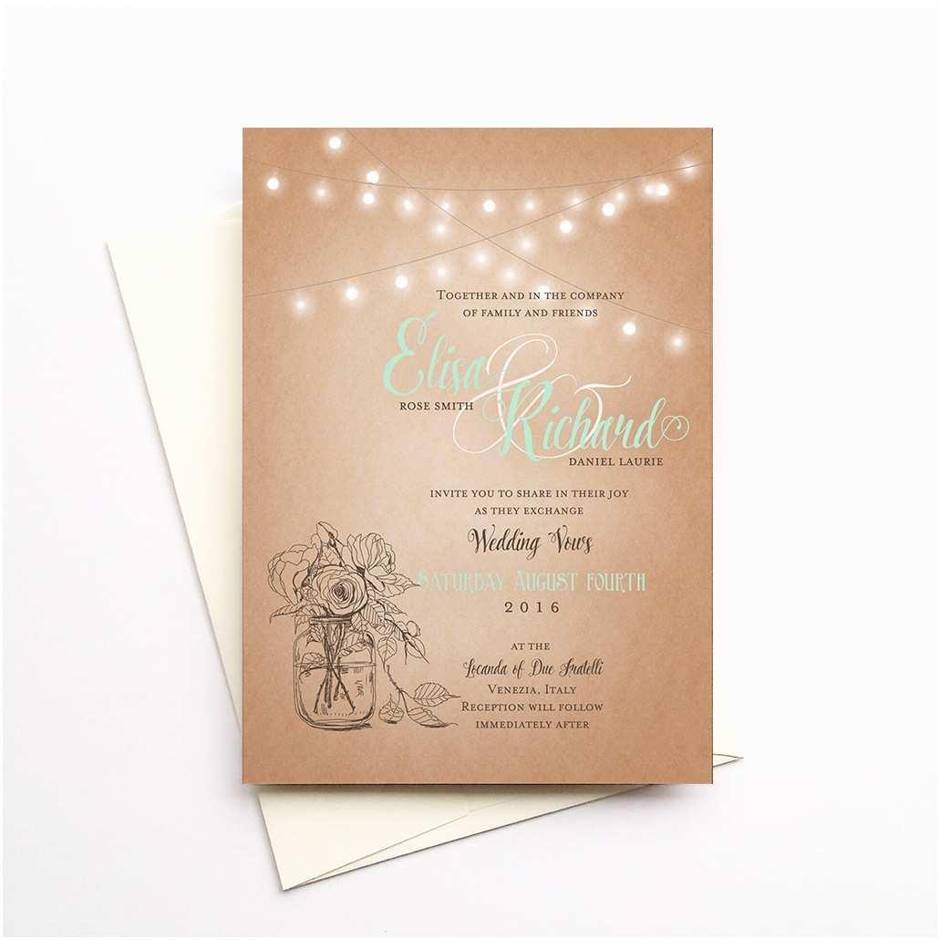 Light In the Box Wedding Invitations Roslyn Wedding Invitations Deposit