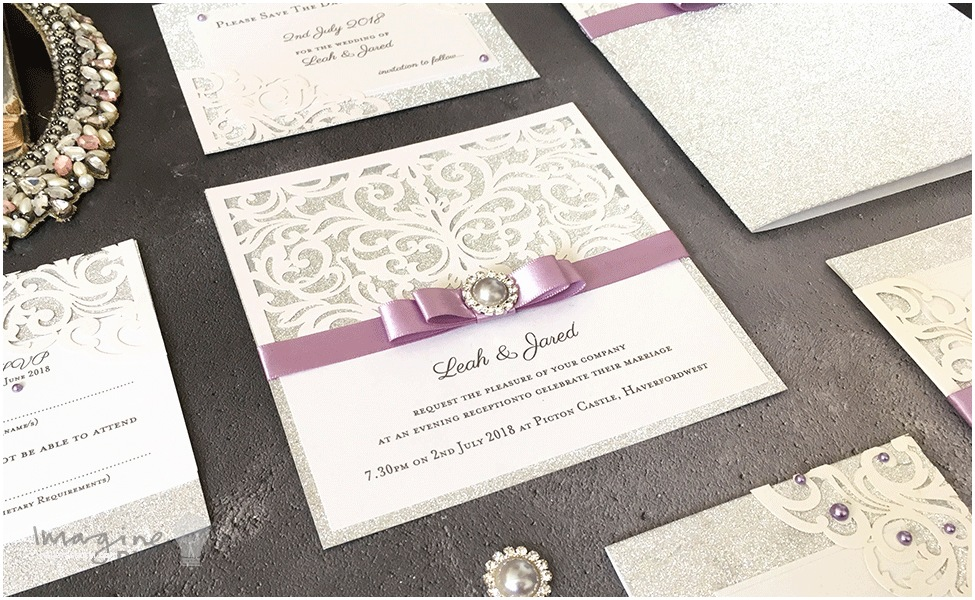 Lilac and Silver Wedding Invitations How to Make Your Own Diy Wedding Stationery Imagine Diy