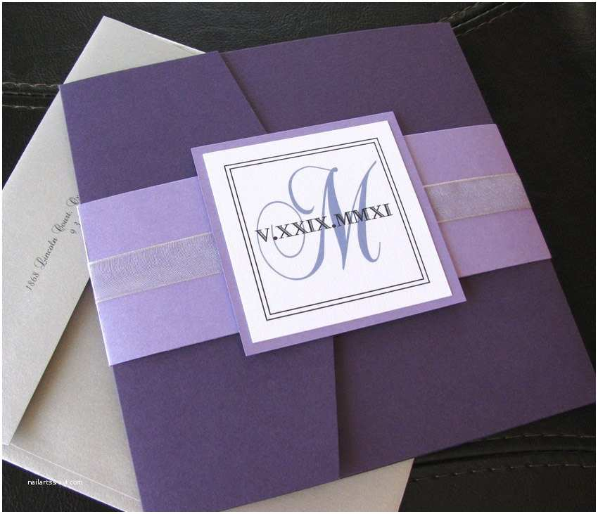 square elegance lavender silver and