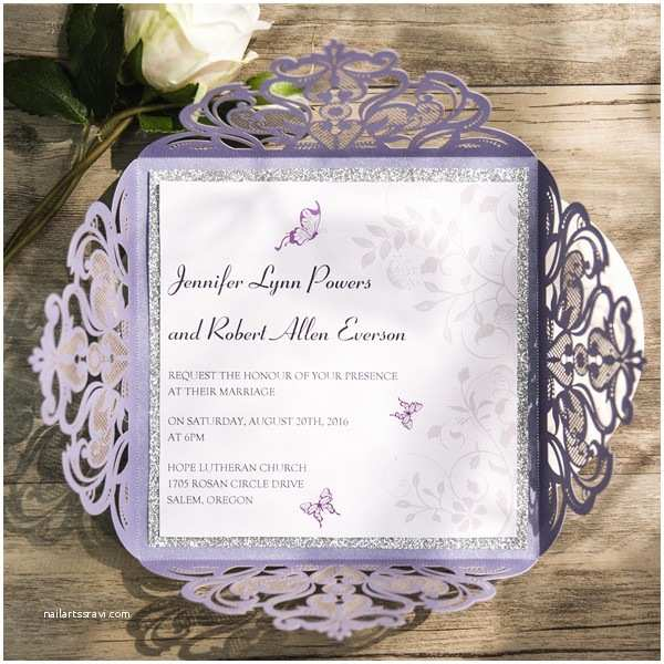 Lilac and Silver Wedding Invitations Updated top 10 Wedding Color Scheme Ideas for 2018 Trends