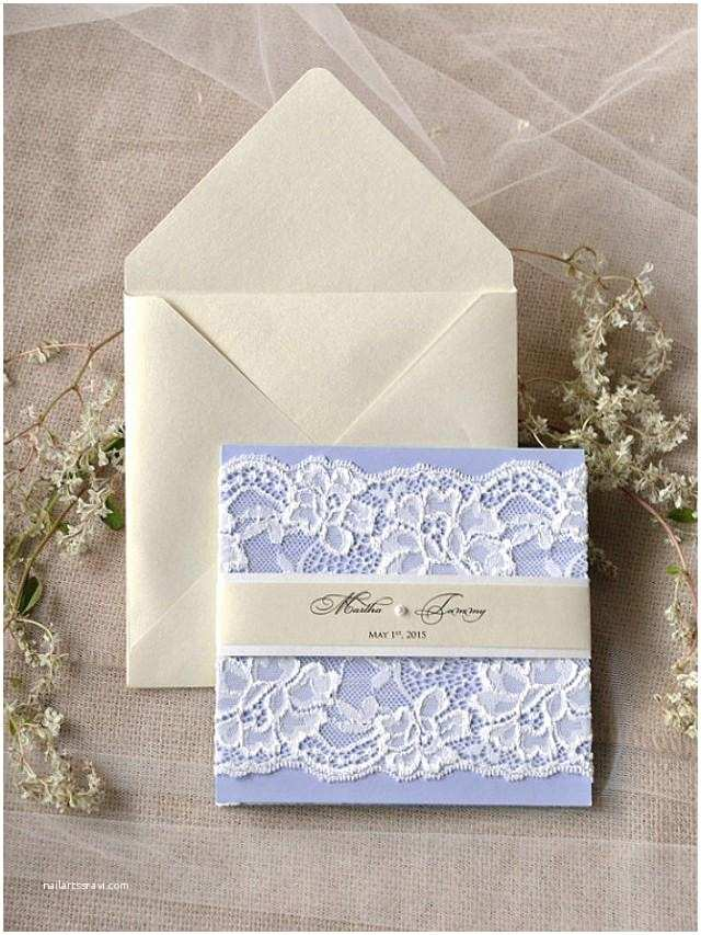 Lilac Wedding Invitations Custom Listing 20 Lilac Wedding Invitation Lace