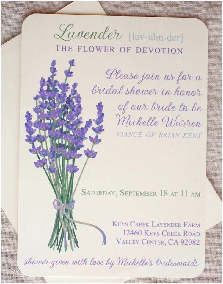 Lilac Wedding Invitations Lavender Wedding Invitations Print at Home Printable
