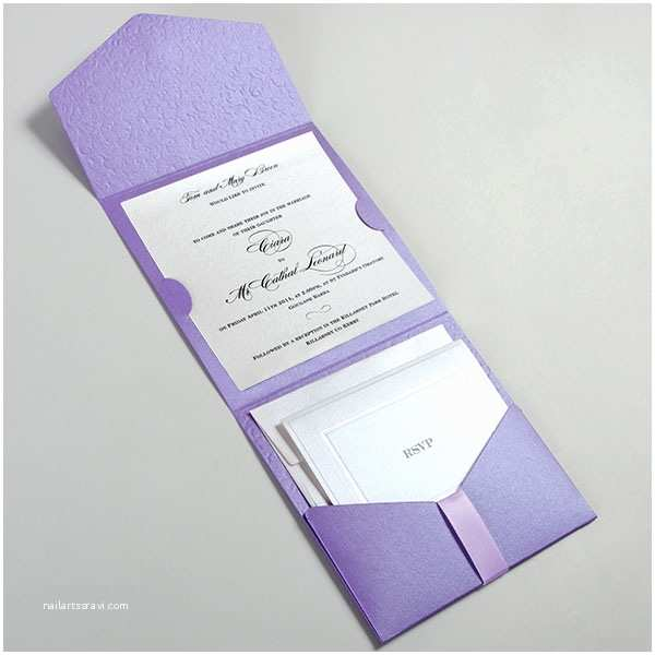 Lilac Wedding Invitations Lilac Pocketfold Wedding Invitations Uk Lilac Virginia