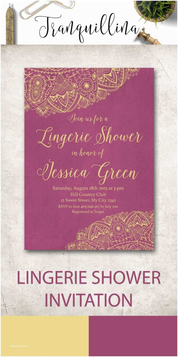 Lingerie Bridal Shower Invitations 17 Best Ideas About Lingerie Invitations On Pinterest