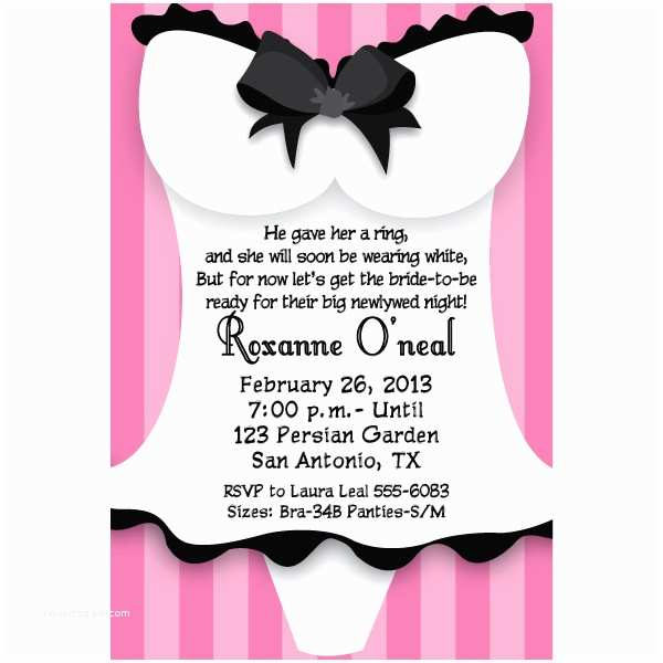 Lingerie Party Invitations Party Invitation Templates Lingerie Party Invitations