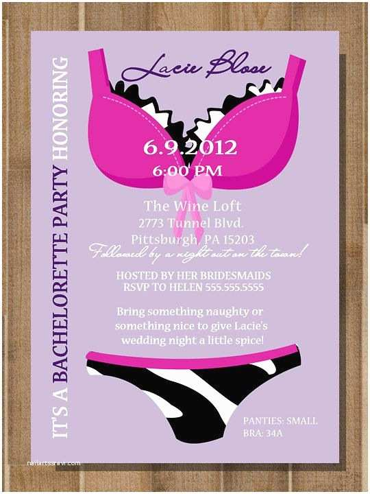 Lingerie Party Invitations the 25 Best Lingerie Invitations Ideas On Pinterest