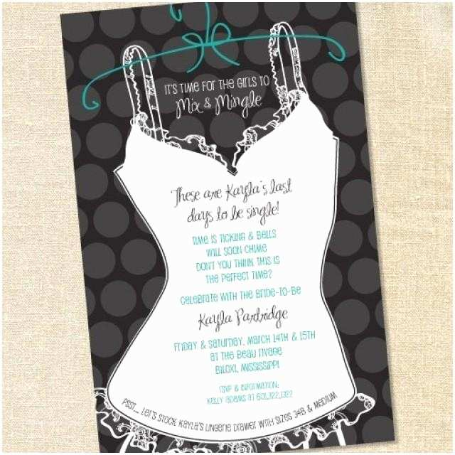 Lingerie Party Invitations Wedding Nail Designs Party Bridal Shower
