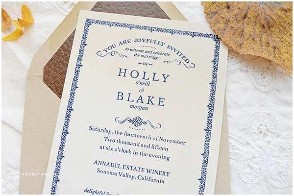Literary themed Wedding Invitations Holly Blake S Antique Book Inspired Wedding Invitations