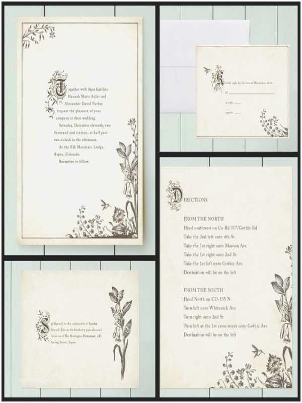 Literary themed Wedding Invitations Literary themed Wedding Invitations Image Collections