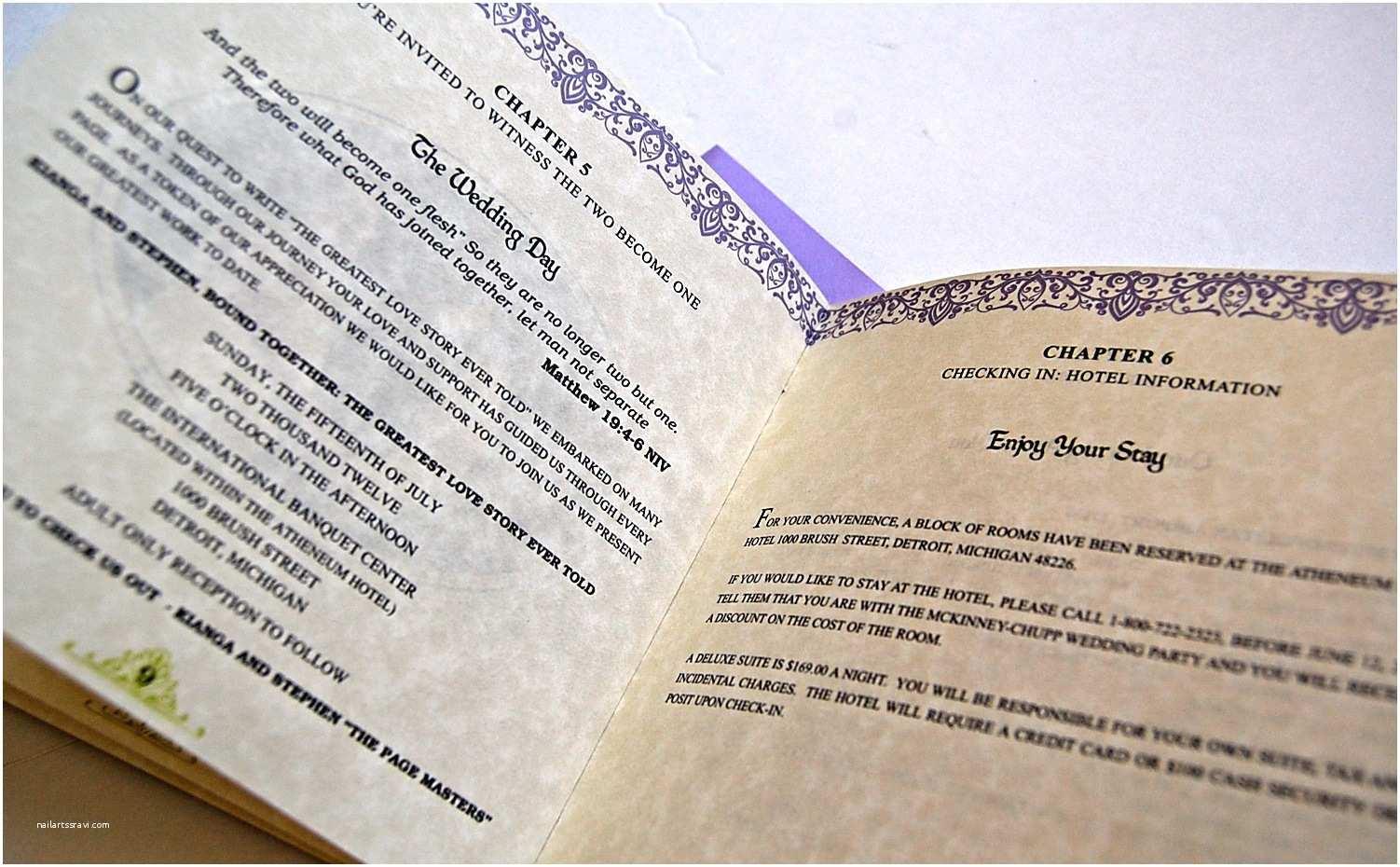 Literary themed Wedding Invitations Vintage Book Style Invitations for A Literary themed