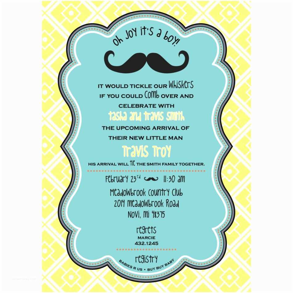 Little Man Baby Shower Invitations Our Favorite Baby Shower themes anders Ruff Custom