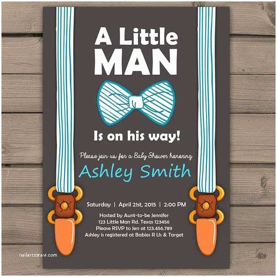 Little Man Baby Shower Invitations Unique Baby Shower Invitations 2015 Cool Baby Shower Ideas