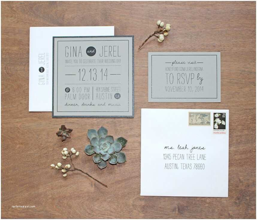 Local Wedding Invitations Custom Wedding Invitation Design by Mokse Design