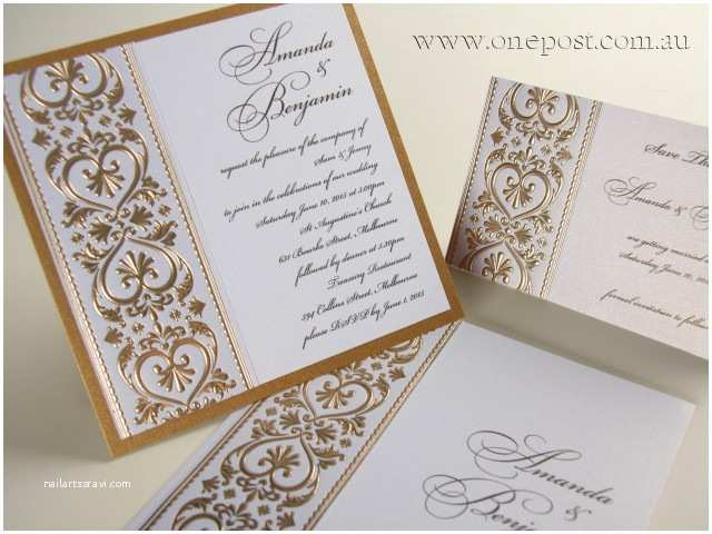 Local Wedding Invitations Wedding Invitations by E Post In Helensvale Qld