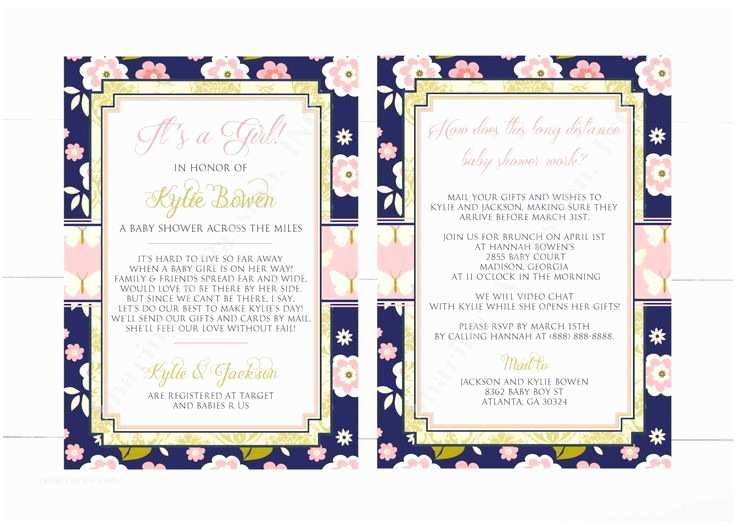 Long Distance Baby Shower Invitations 1000 Ideas About butterfly Invitations On Pinterest