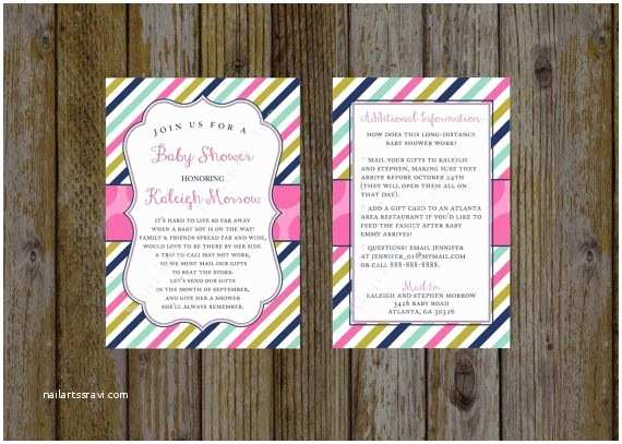 Long Distance Baby Shower Invitations 19 Best Baby Shower by Mail Invitations Images On