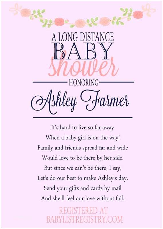 Long Distance Baby Shower Invitations Best 25 Virtual Baby Shower Ideas On Pinterest