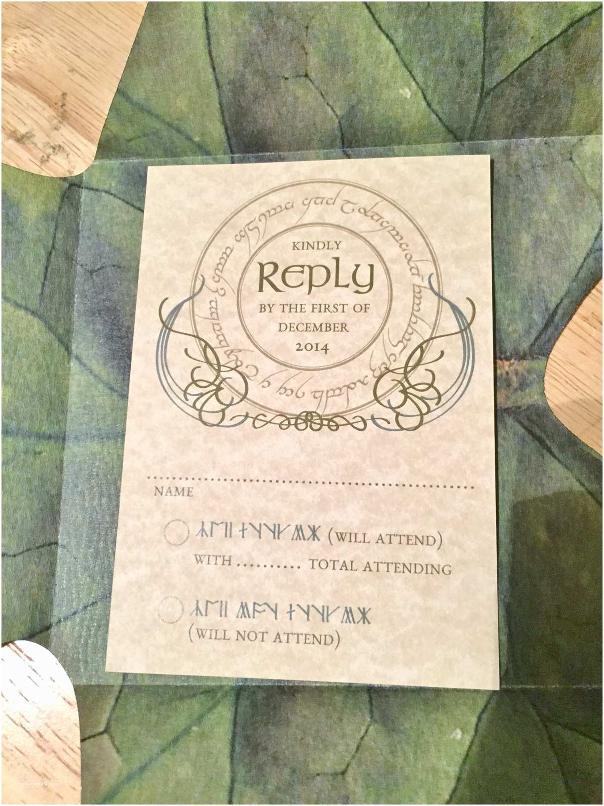 Lord Of the Rings Wedding Invitations An Actual Review Of the Best Lord Of the Rings Wedding
