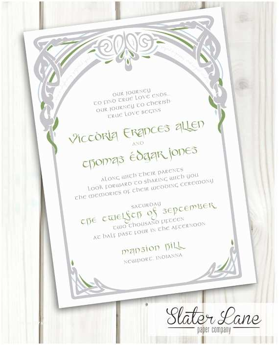 Lord Of the Rings Wedding Invitations Lord Of the Rings Wedding Invitation Diy Printable Lotr