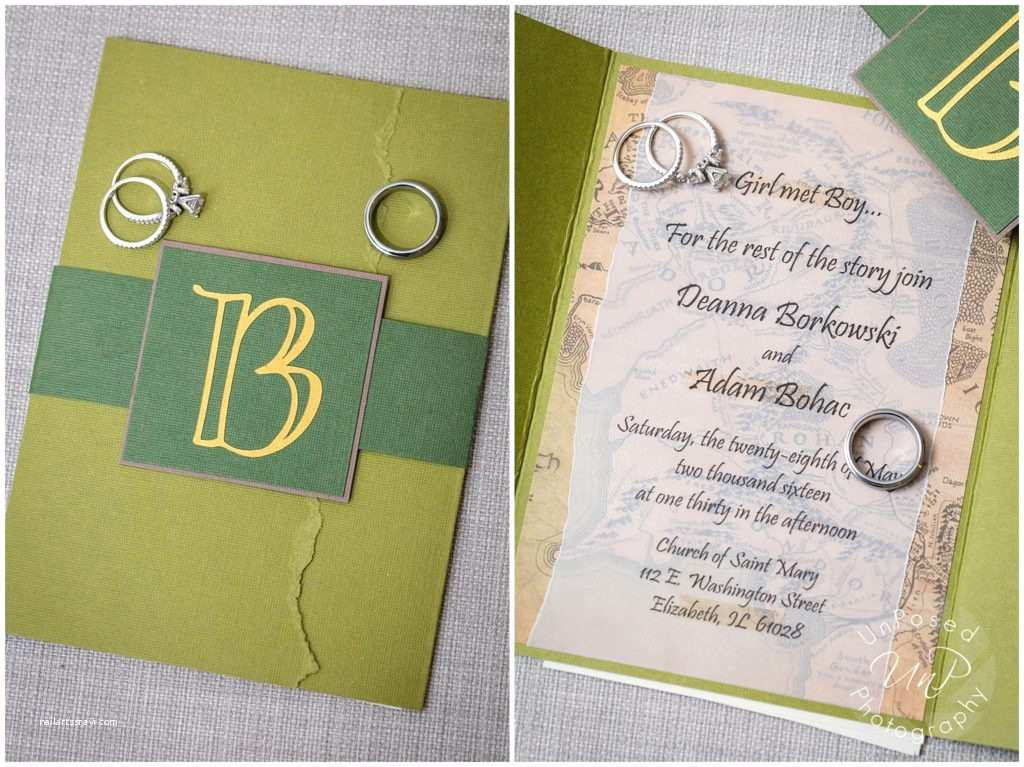 Lord Of the Rings Wedding Invitations Lord the Rings Wedding Invitations