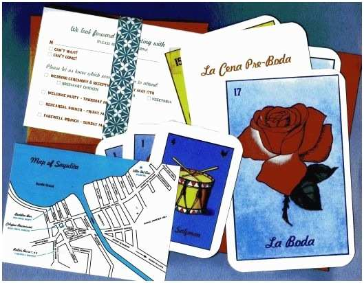 Loteria Wedding Invitations Bingo Mexicans and Invitations On Pinterest