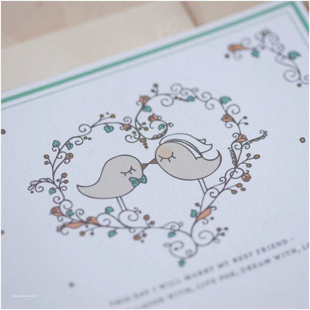 Love Bird Wedding Invitations Love Bird Wedding Invitations Invitation Vintage Kissing