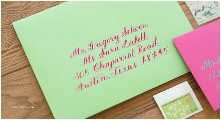 Love Pop Wedding Invitations Allison Kathleen Calligraphy & Design Invitations