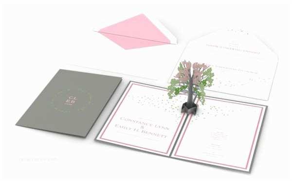 Love Pop Wedding Invitations Custom Personalized Pop Up Wedding Invitations by Lovepop
