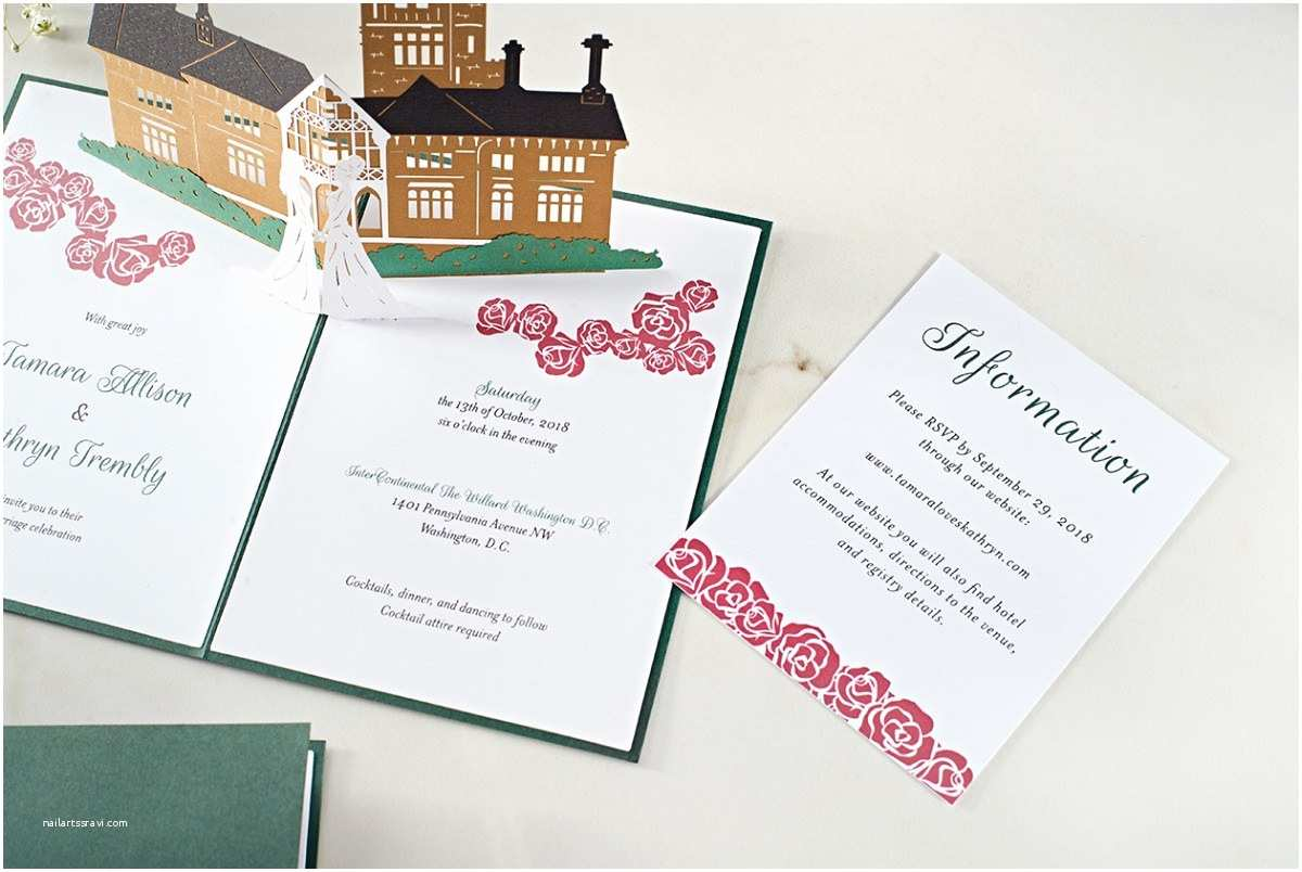 Love Pop Wedding Invitations Your Guests Will Never Throw these Wedding Invitations