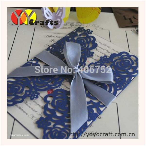 Low Price Wedding Invitation Cards 50pcs Low Price Good Service Hot Sale Royal Wedding Cards