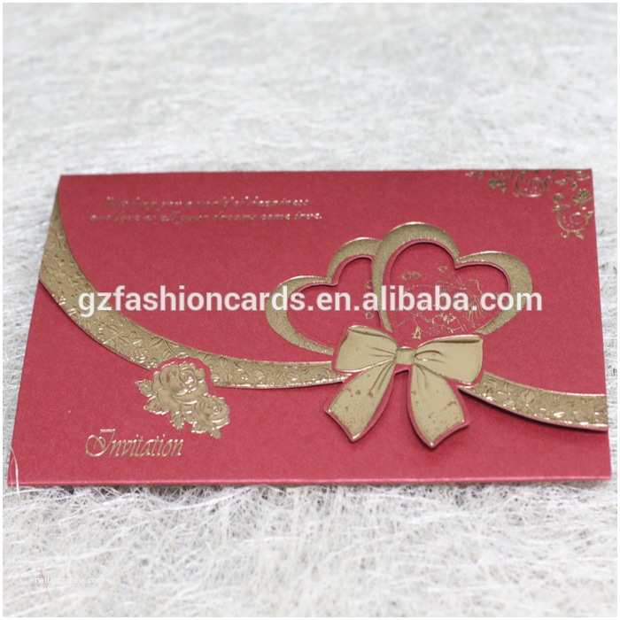 Low Price Wedding Invitation Cards Lowest Price Printed Gold Flower Embossed Wedding