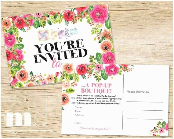 Lularoe Party Invite Wording Lularoe Invitation Lularoe Pop Up Boutique Invite