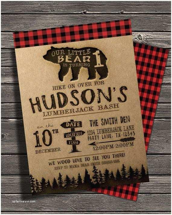Lumberjack Birthday Party Invitations 25 Best Ideas About Lumberjack Party On Pinterest