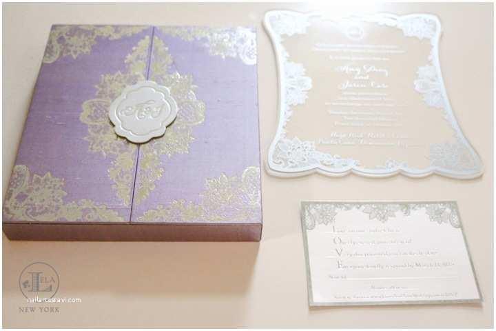 Luxury Boxed Wedding Invitations Boxed Invitations — Lela New York